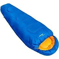 Vango  Saturn Kids' Outdoor  Sleeping Bag available in Atlantic - Size 170 x 70 cm