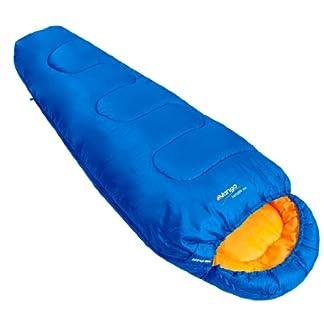 Vango Saturn Kids' Outdoor Sleeping Bag available in Atlantic - Size 170 x 70 cm 11