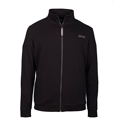 jeep-sweat-molletonne-a-capuche-zip-integral-grille-outline-back-homme-j6w-black-military-l