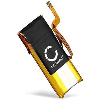 subtel/® Qualit/äts Akku kompatibel mit Apple iPod Nano 7 Gen 616-0640 200mAh Werkzeug-Set Ersatzakku Batterie 616-0639 A1446