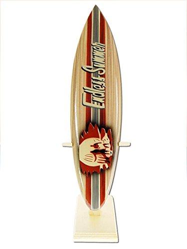 Seestern Sportswear Deko Holz Surfboard 30 cm lang Airbrush Design Surfing Surfen Wellenreiten Surf /1853