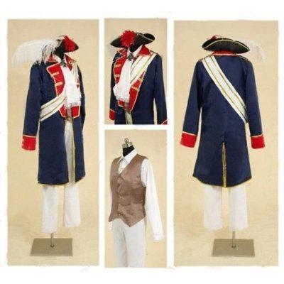 APH Achsenmächte Hetalia Prussia Cosplay Kostüm