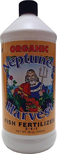 neptunes-harvest-neh-hf136-neptunes-harvest-organic-hydrolyzed-fish-fertilizer-2-4-1-1-quart