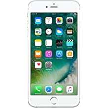 "Apple iPhone 6S Plus - Smartphone libre iOS, Pantalla 5.5"", 64 GB (Dual-Core 1.4 GHz, 2 GB de RAM, cámara de 12 MP), (Reacondicionado Certificado por Apple), Plateado (Silver)"