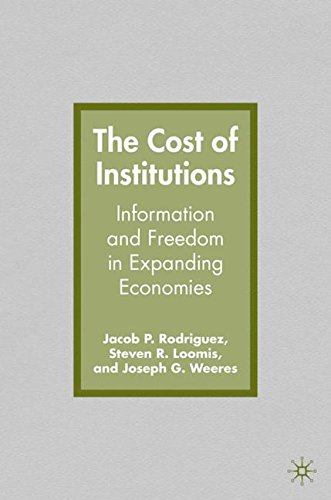 The Cost of Institutions: Information and Freedom in Expanding Economies