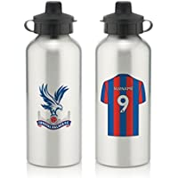 Official Personalised Crystal Palace FC Aluminium Water Bottle