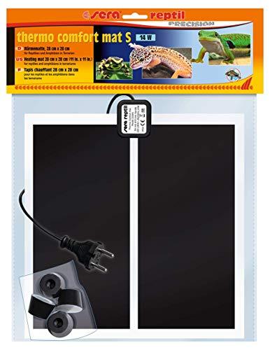 sera 32004 reptil Thermo Comfort Mat S/14 W tappetini riscaldanti per rettili Anfibi e Vertebre terrari.