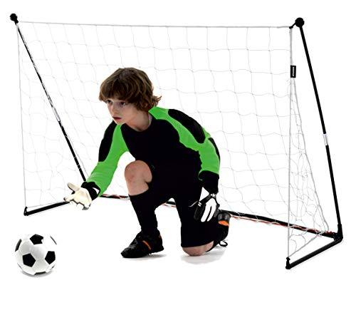 QUICKPLAY Junior Fußballtor 1,5 x 1 m - Ideal für Kinder von 4 bis 10 Jahren