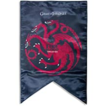MC SID RAZZ Game of Thrones Targaryan Banners Flag | Birthday Gift/Return GiftGirl Friends boy Friends Gift Officially Licensed by HBO,USA