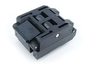 Waveshare QFP44 TQFP44 IC51-0444-467 Yamaichi QFP IC Test Burn-in Socket Adapter 0.8mm Pitch