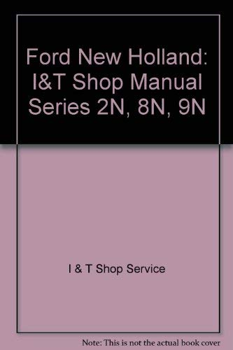 Ford Shop Manual Series 2N, 8N, 9N/Fo-4