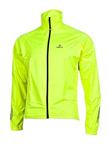 Fahrrad-Regenjacke leichte Funktionsjacke wasserdicht, Winddicht & atmungsaktiv Fahrradjacke für Damen und Herren