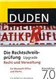 DUDEN Die Rechtschreibprüfung Upgrade Recht und Verwaltung 7.0
