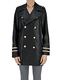 Ralph Lauren Women's MCGLCSC03019E Black Linen Trench Coat