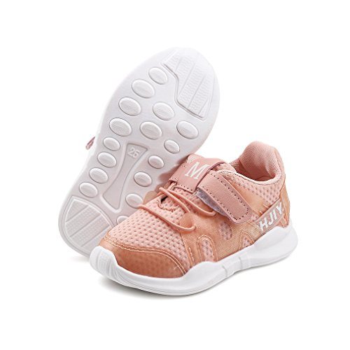 Chaussures de sport pour enfants Garçon et fille chaussures de course Velcro Chaussures de Running Sport Antidérapant Outdoor Respirant Sneakers