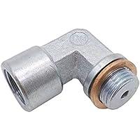 Sensor de oxígeno M18X1.5 O2 Amplificador en ángulo espaciador 90 grados 02 Extensión del tapón para instalación fácil Decat hidrógeno