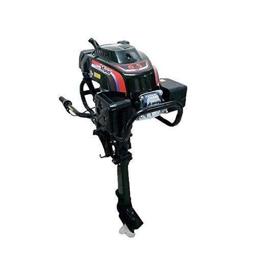 OU BEST CHOOSE 4-Takt 6.5PS Benzinmotor Bootsmotor Schwerlast Außenbordmotor Luftkühlsystem Wasserkühlung Aussenborder Motor (NUR Deutschland)