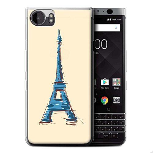 Coque de Stuff4 / Coque pour Apple iPhone 5C / Manchot Design / Cousu des Animaux Effet Collection Tour Eiffel / Paris