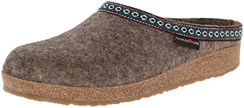 Haflinger Grizzly Franzl 711001 Damen Pantoffeln 2018 Letztes Modell  Mode Schuhe Billig Online-Verkauf