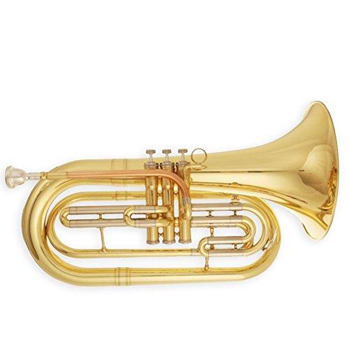 Gold Sporting Basstrompete Mit Koffer Und Mundstück Marching Bariton