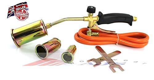 Gasbrenner-Set, Propan-, Butangas, Schlauch, Regler, Gebläse, für Dachdecker, Klempner