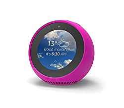 Mission Silicone Case For Amazon Echo Spot - Hot Pink