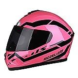 YMQC Motorcycle Helmet,Casque Moto Modulable Casque De Vélo, Sports De Plein Air...