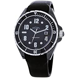 Rotary Men's Ceramic Case Diver's Watch CATKIL3 With Rubber Strap