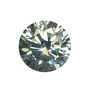 Grüner Moissanit Diamant 0,95 Ct Runder Brillantschliff Moissanite Egl zertifiziert aus echtem losem Moissanite