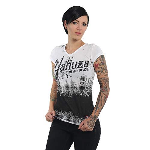 Yakuza Damen Gradient V-Neck T-Shirt
