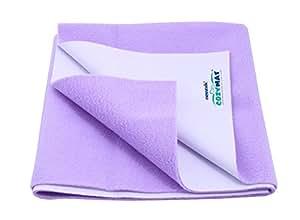 Cozymat Mattress Protector (Size: 70cm X 100cm) Purple, M