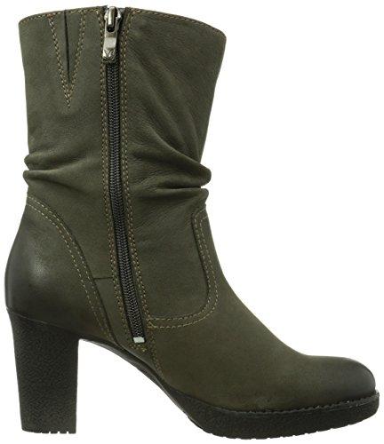 Caprice Shannon-B-1 9-9-25386-23 008 Damen Kurzschaft Stiefel Grau (202 GREY NUBUC)