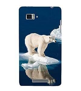Vizagbeats polar bear Back Case Cover for Lenovo Vibe Z K910