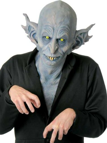 Nosferatu Horrormaske für Halloween (Nosferatu Maske Für Erwachsene)