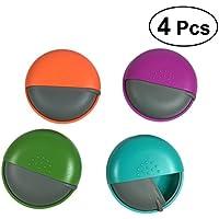 SUPVOX 4 STÜCKE Mini Pillendose Nette Größe für Geldbörse Locking Kleine Täglichen Fall (Zufällige Farbe) preisvergleich bei billige-tabletten.eu