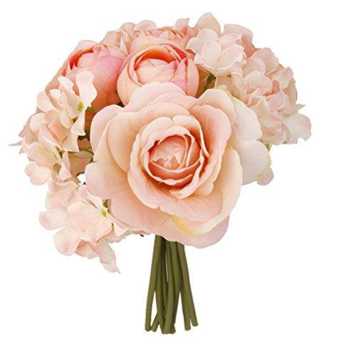 rosenice k nstliche blume simulation hortensie bouquet. Black Bedroom Furniture Sets. Home Design Ideas
