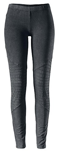 Black Premium by EMP Ladies Biker Knee Leggings Leggings nero XL