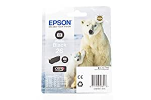 Epson Polar Bear 26 Ink Cartridge - Standard, Photo Black