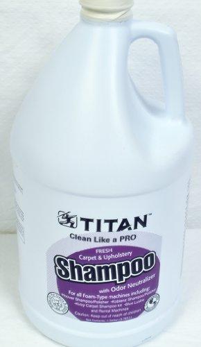 Titan Carpet Upholstery Shampoo Gallon Size