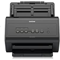 Brother ADS-2400N Scanner bureautique |A4 |Recto-Verso |40 ppm | Chargeur 50 Feuilles |Ethernet |Scan to USB