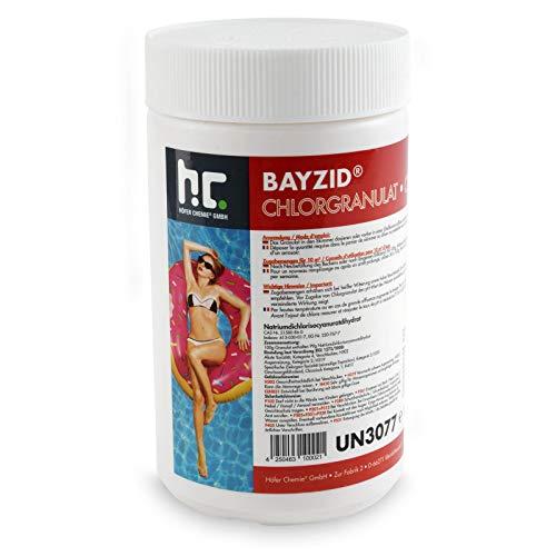 Höfer Chemie 6 kg BAYZID ® Chlor Granulat wirkt schnell und zuverlässig für Pool und Schwimmbad bestellen