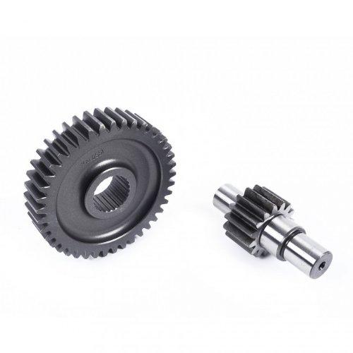 Preisvergleich Produktbild Getriebe - Übersetzung Malossi Sek. 15/41 für Piaggio 2T bis 1997 / Hexagon 125 - 150 EX EXS, d=17mm