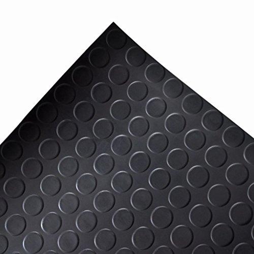 vidaXL Tapis de sol antidérapant En caoutchouc 2 x 1 m Pastillé Magasin en ligne