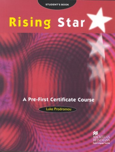 Rising Star: Pre-Fce by L. Prodromou (2-Mar-2000) Paperback