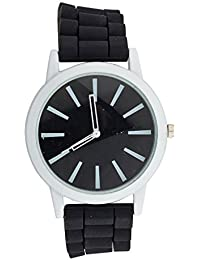 b3ca2f957eef LUX accesorios negro pulsera analógico deportes reloj de pulsera