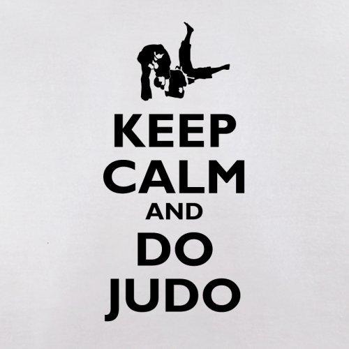 Keep Calm and Do Judo - Herren T-Shirt - 13 Farben Weiß