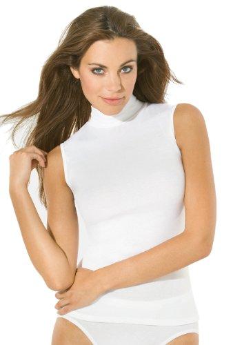 Speidel Rollkragen Unterhemd Bio Cotton kbA-Baumwolle, 5er-Pack 1605 Weiß