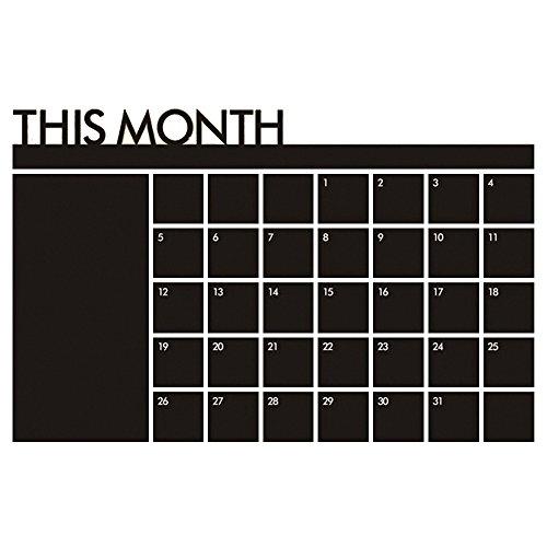 Pingxia Mensile Planner Calendario Rimovibile Adesivi Murales Wall Sticker Decalcomanie Casa Decorazione per