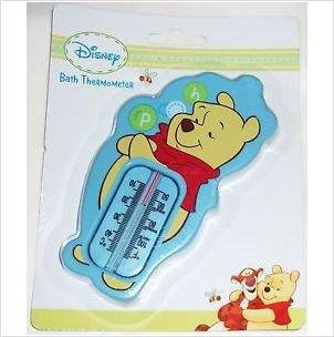 Disney Winnie l'Ourson Thermomètre de bain Bleu