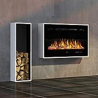 Noble Flame Miami - Chimenea eléctrica para Colgar en la Pared